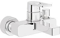 Смеситель для ванны GROHE QUADRA 32638000,кран для ванны и душа квадратный