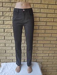 Брюки, джинсы подростковые стрейчевые коттоновые с высокой посадкой LOOK VNG, Турция