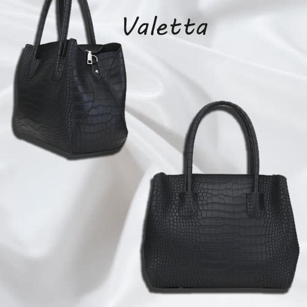 Женская сумка из искуственной кожи цвет черный