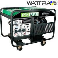 ⭐ Генератор бензиновый (10 кВт) IRON ANGEL EG 11000 E