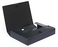 Папка-бокс пластиковая А4/50мм на липучке D1808 490229 Datum