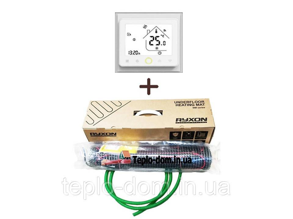 Нагреватальний мат Ryxon HM-200 ( 8 м2) c WI-FI thermostat TWE02 (KIT 4713)