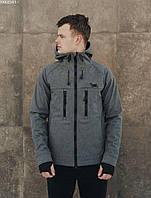 Чоловіча куртка Staff soft shell grafit