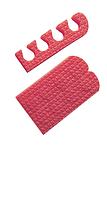 Распорки для педикюра ( 20 пар/уп)цветные