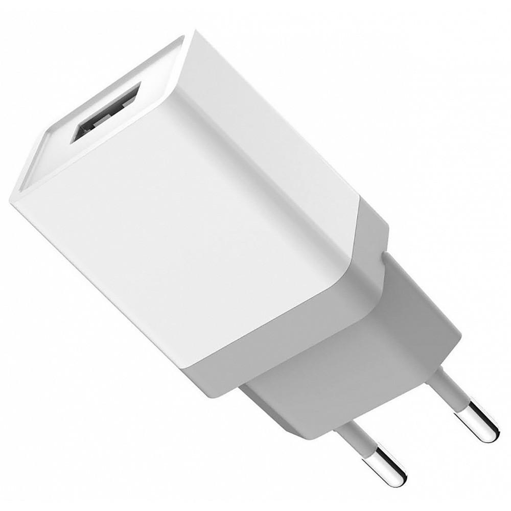 Сетевое зарядное устройство GOLF GF-U2 на 1USB с кабелем на Type-C