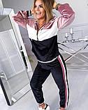 Костюм спортивный женский велюровый 42-44, 44-46, 48-50, 52-54, фото 2