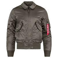 Куртки alpha industries пилот cwu 45/p slim fit