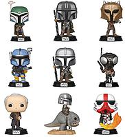 Фигурки Фанко Поп Funko Pop Звёздные Войны Мандалорец Star Wars The Mandalorian