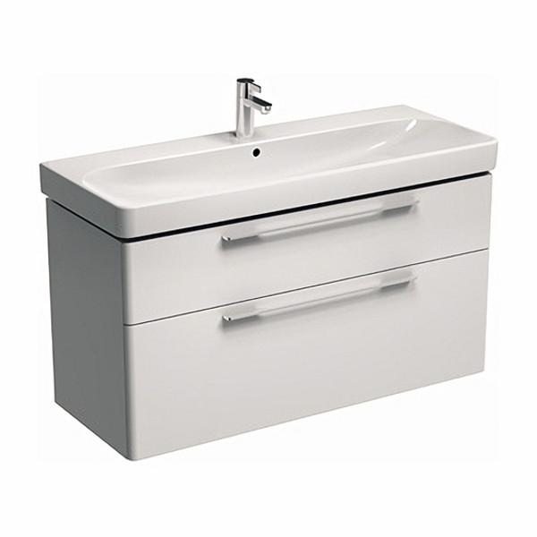 TRAFFIC шкафчик под умывальник 116,8*62,5*46,1 см,белый глянец(пол.)