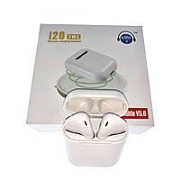 Вакуумные Bluetooth наушники TWS i20 с Сенсор + ПОДАРОК: Настенный Фонарик с регулятором BL-8772A