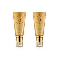 BB крем с бархатным покрытием M Gold Perfect Cover B.B Cream (SPF42/PA+++) тон 21 светлый беж - MISSHA