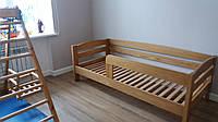 Кровать из натурального дерева детская Панда Р (200х90), фото 1