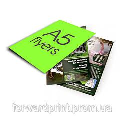 Друк листівок А5