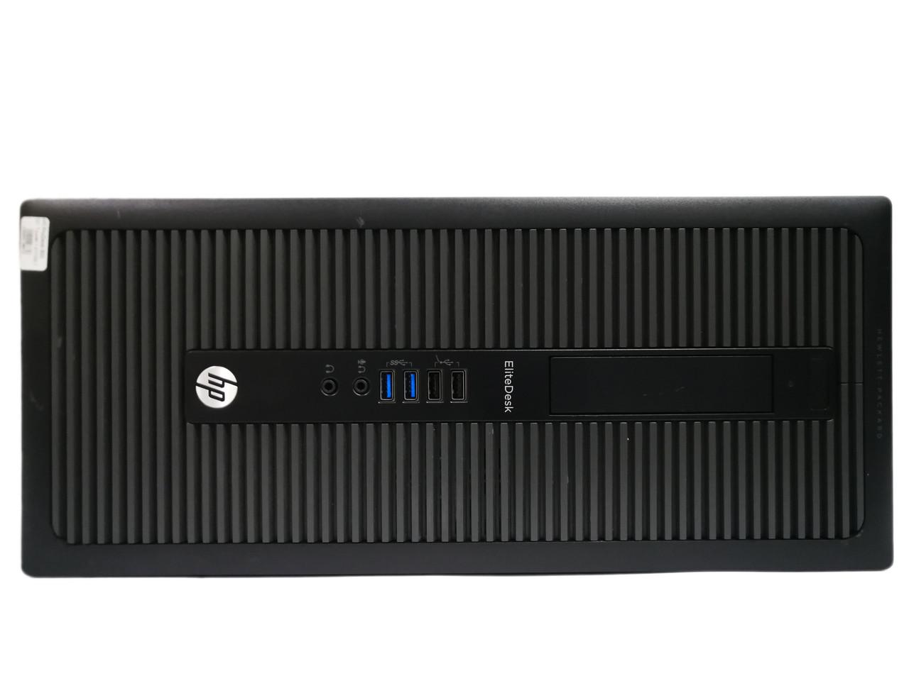 Компьютер HP EliteDesk 800 G1 Tower, Intel Celeron G3220, 8ГБ DDR3, SSD 120ГБ