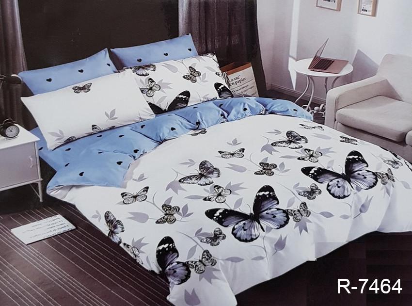 Семейный комплект постельного белья R7464