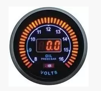 Дополнительный прибор Ket Gauge LED 96584 тахометр, давление масла.
