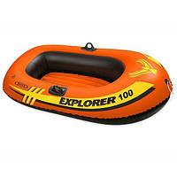 Одноместная надувная лодка Intex Explorer 100 (58329)