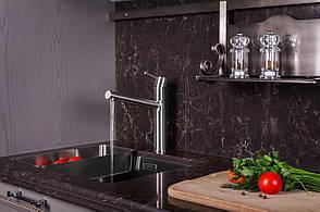 LOTTA смеситель для кухни 55402-SS, сталь, 40 мм, фото 2