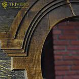 Зеркало в деревянной раме в лофт стиле клен, фото 3