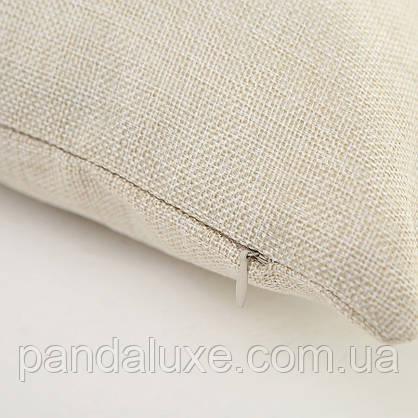 Наволочка для декоративной подушки 45х45 см Кит, фото 2