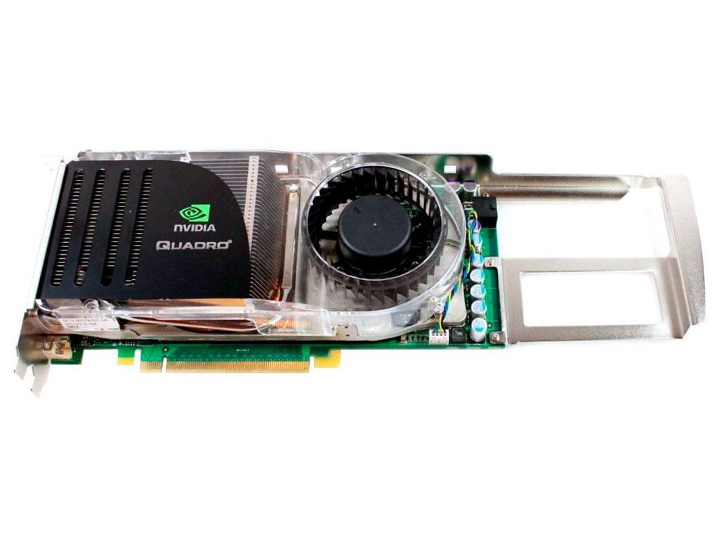 Видеокарта nVidia Quadro FX 4600 768Mb PCI-Ex DDR3 384bit (2xDVI + sVideo)