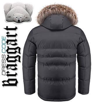 Зимнюю мужскую куртку с мехом купить оптом, фото 2
