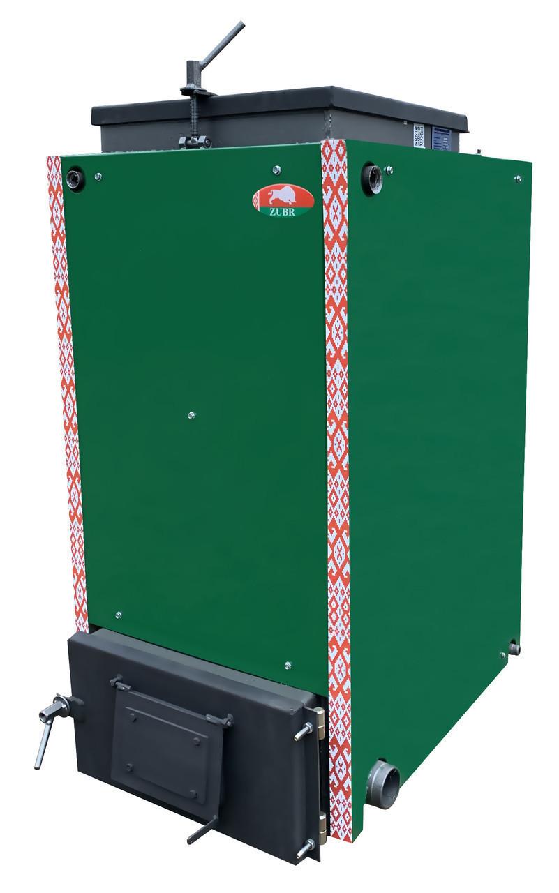 Твердопаливний котел шахтного типу Холмова Zubr Termo 40 кВт (утеплений)