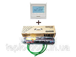 Двужильный нагревательный мат, Ryxon HM-200 (1 м2) с програматором Е-51