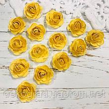 Роза желтая распродажа