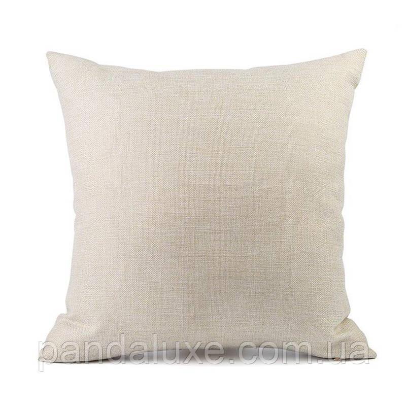 Наволочка для декоративной подушки 45х45 см Фламинго в воде, фото 2