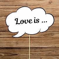 "Табличка ""Love is"" (арт. FMC-17)"