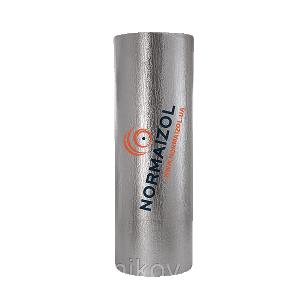 АЛЮФОМС ХС изоляция на основе химически сшитого (ХС) пенополиэтилена самоклеющаяся 8 мм.