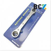 """Ключ холодильный (вентильный) CT-122 ZERO HVAC (3/16"""" - 3/8"""") (hq)"""