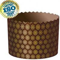 Форма бумажная для кулича Стандарт d70xh60мм