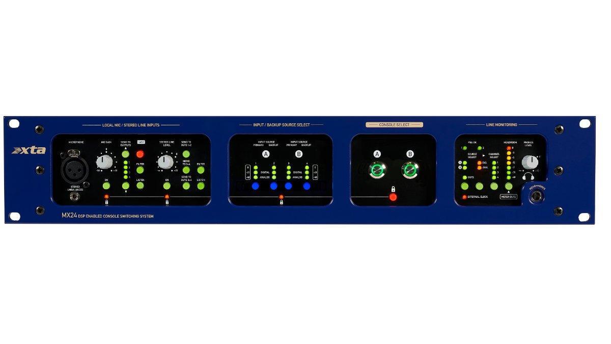 Система подключения и переключения между консолями XTA Electronics MX24-Dante