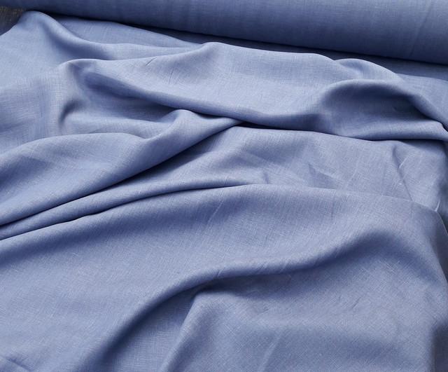 Костюмные льняные ткани (однотонные)