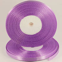 Атласная лента для вышивки и декора 7ММ-23М-№60-Лиловый