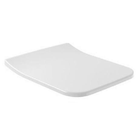 Сиденье Villeroy & Boch VERITY LINE SlimSeat  с крышкой на унитаз, QuickRelease и SoftClosing, белый альпин, фото 2