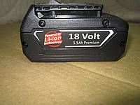 Аккумуляторы для шуруповертов 18 Volt  5.5Ah