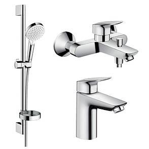 Logis Набор смесителей для ванны (71100000+71400000+26553400), фото 2
