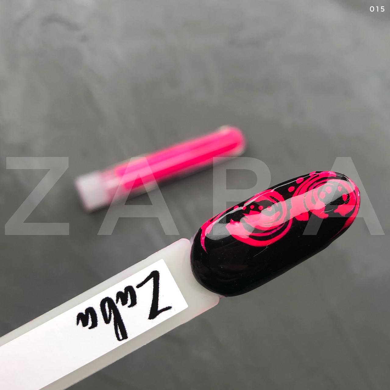 Неоновый пигмент в колбе 015, розовый, шт
