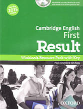 Cambridge English: First Result Workbook Resource Pack with key and MultiROM / Рабочая тетрадь