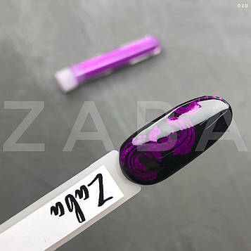Неоновый пигмент в колбе 020, фиолетовый, шт