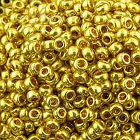 Бісер Preciosa Чехія №18388 жовте золото