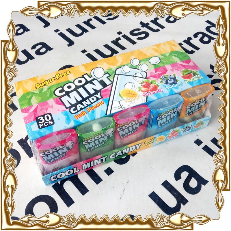 Драже фруктове Cool Mint Candy 30 шт./уп.