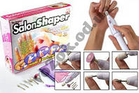 Маникюрный набор Salon Shaper (Салон Шапер)  аппарат, машинка, фрезер для маникюра и педикюра