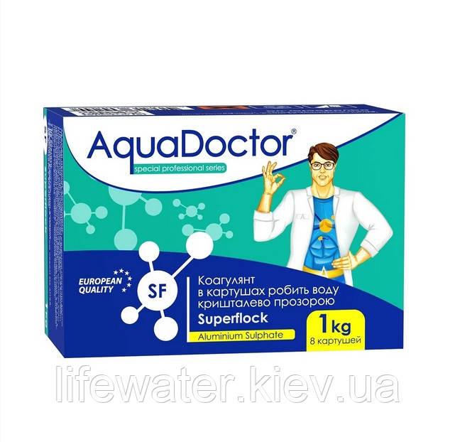 Коагулюючу засіб у картушах AquaDoctor Superflock (1кг)