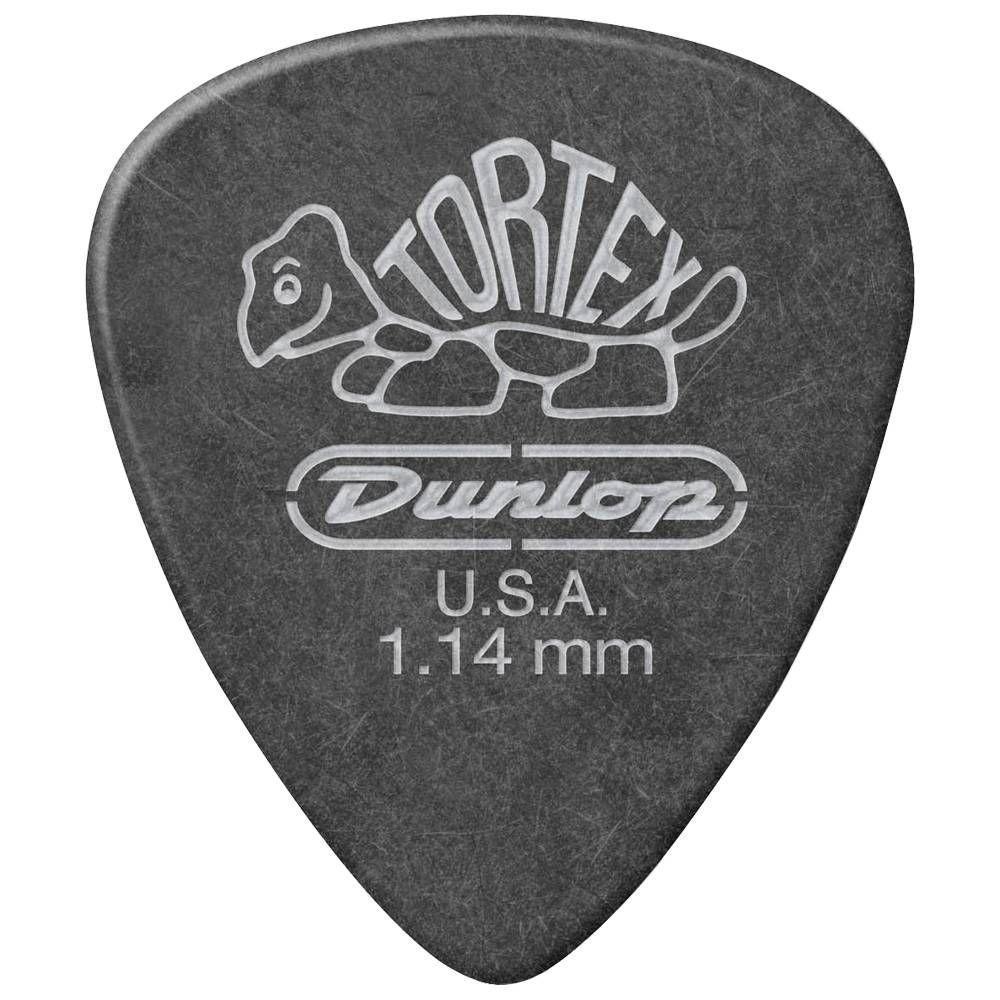 Медиатор для гитары Dunlop Tortex 1.14 mm black
