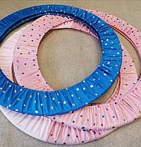 Чехол для обруча гимнастического розовый с сердечками, фото 3
