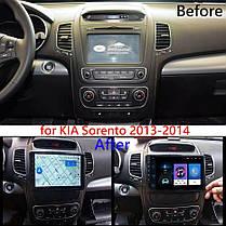 """Автомагнитола штатная  Kia Sorento 2013-2014  Android 10.1 Экран 9"""" Память 4/32 Гб, фото 3"""